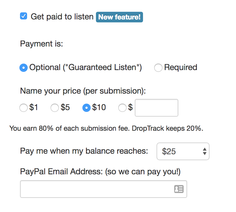 get paid for listening, How to Receive Music and Get Paid for Listening